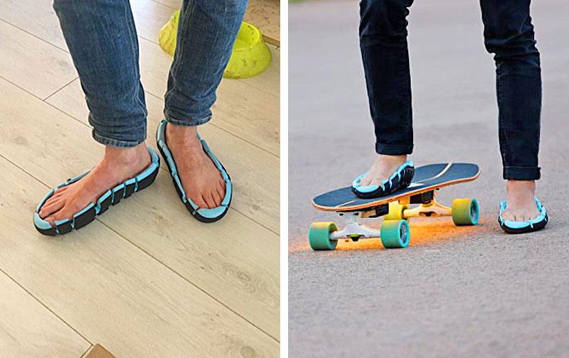 Topless Sandals Extreme Shoe & Sandal Combo Link Flip Shoes