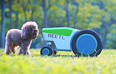 Automatic Dog Poop Pick Up Robot | Beetl