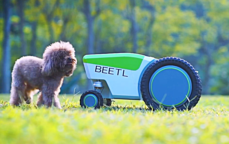 Automatic Dog Poop Pick Up Robot | Beetl
