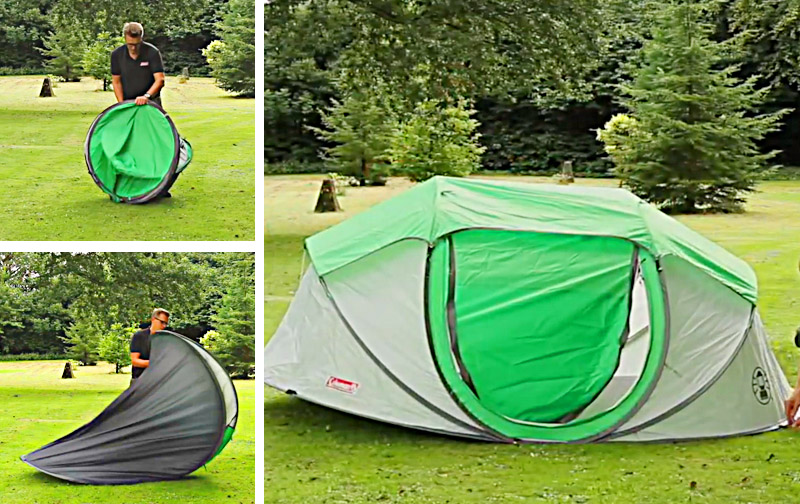 Best 4 Person Pop Up Tent | Coleman Instant Camping Tent