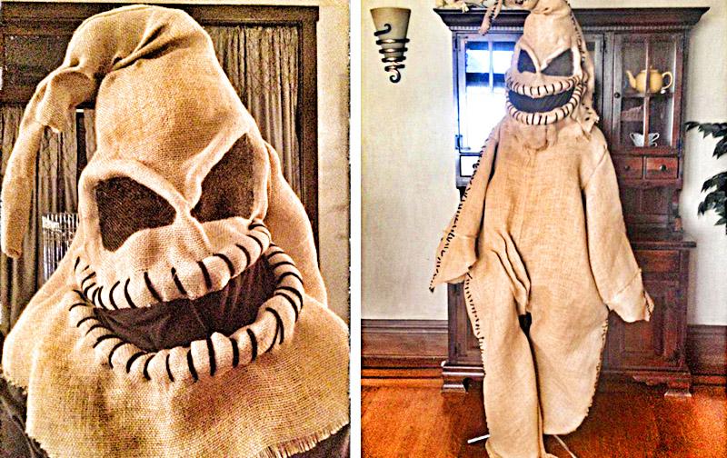 Best Oogie Boogie Costume   Handmade Adult Halloween Costume