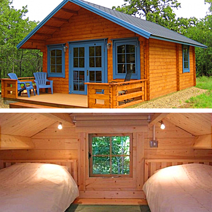 DIY Tiny House & Log Cabin Kits | Only Takes 2 Days to Build