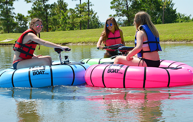 Bumper Boat | Portable Personal Watercraft | The Goboat