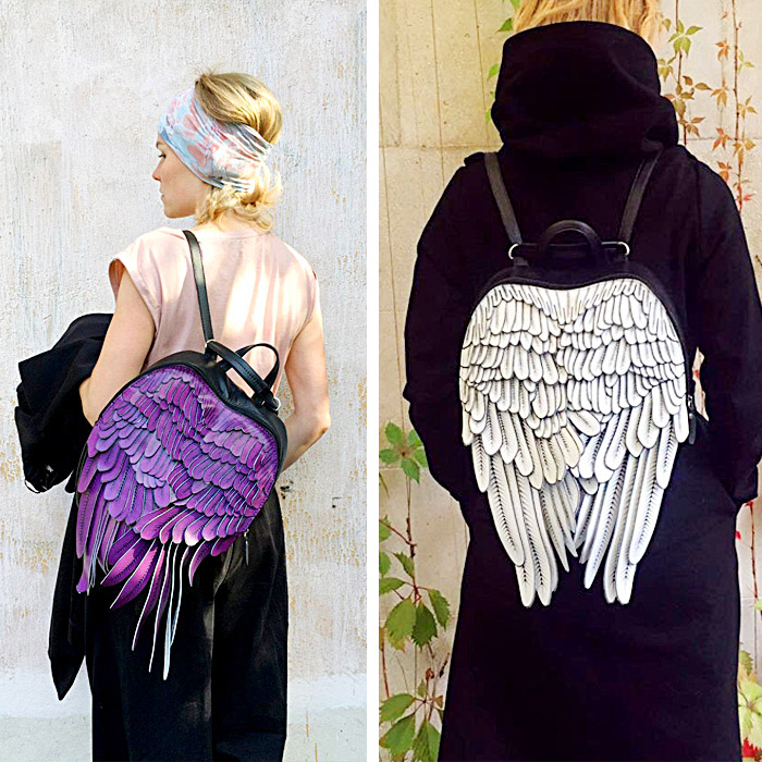 Cool Backpacks With Wings