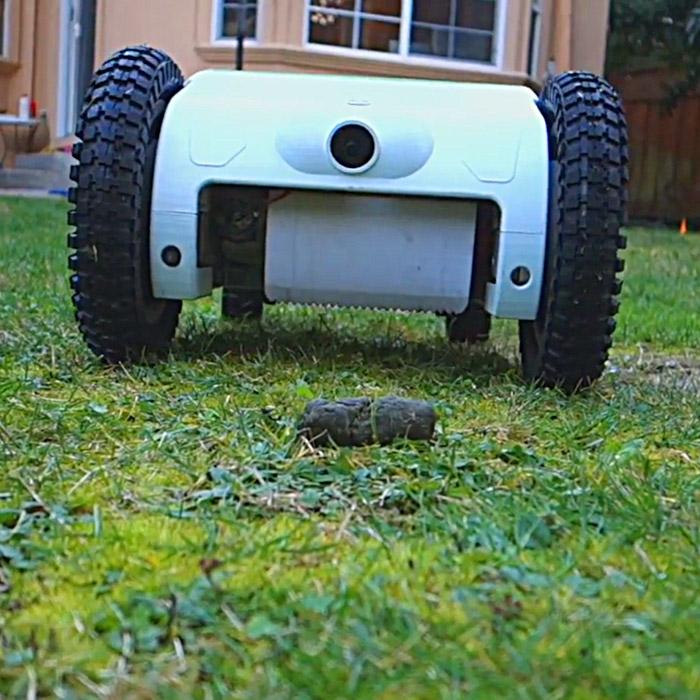 Dog Poop Pick Up Robot