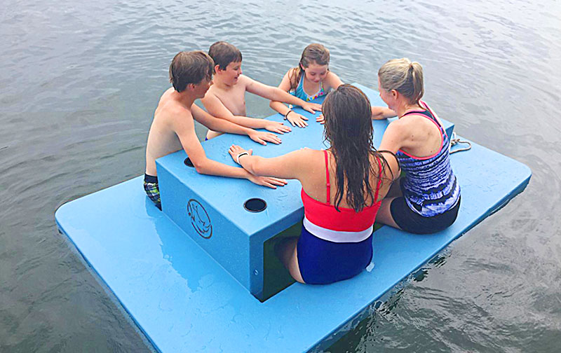 Extreme Floating Picnic Table for Lake, Pool or a Beach