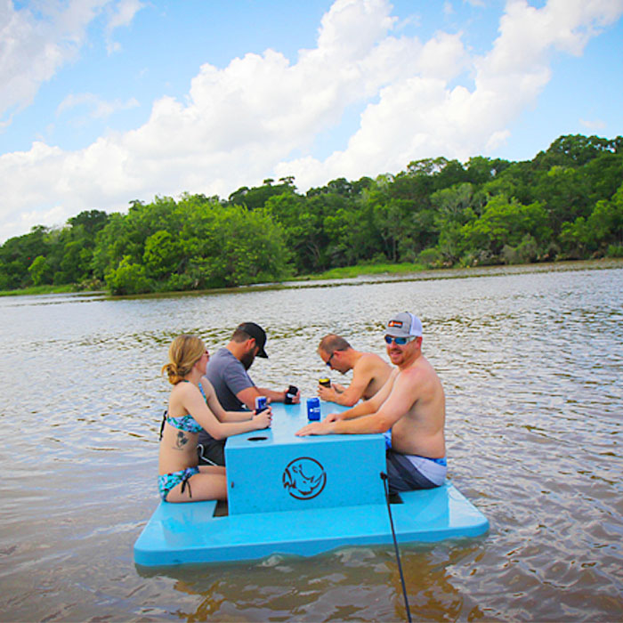Floating Picnic Table for Lake