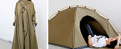 Tent Jacket | This Jacket Turns Into Camping Tent | ADIFF