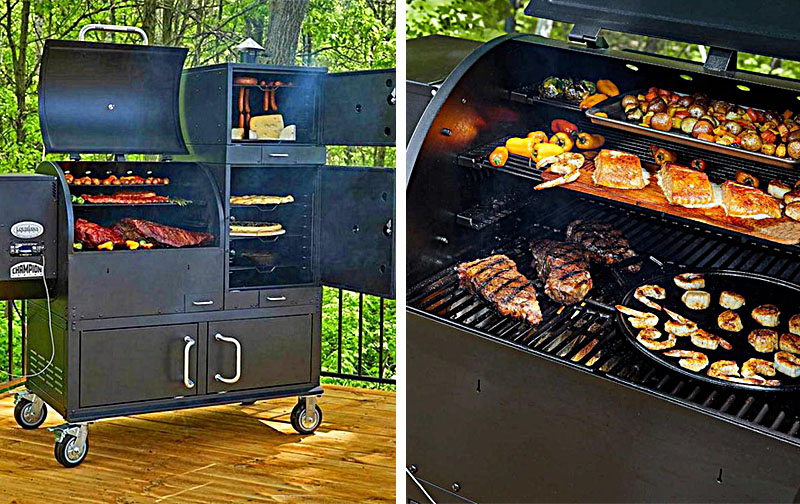 The Ultimate Grill   23.8 Square Feet Of Cooking Space