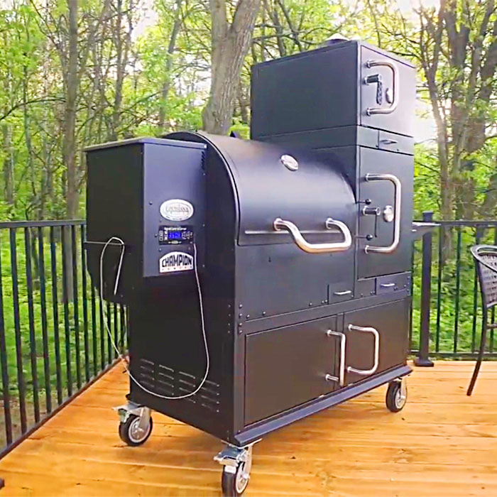 This Ultimate Grill Features 23.8 Square Feet Of Cooking Area