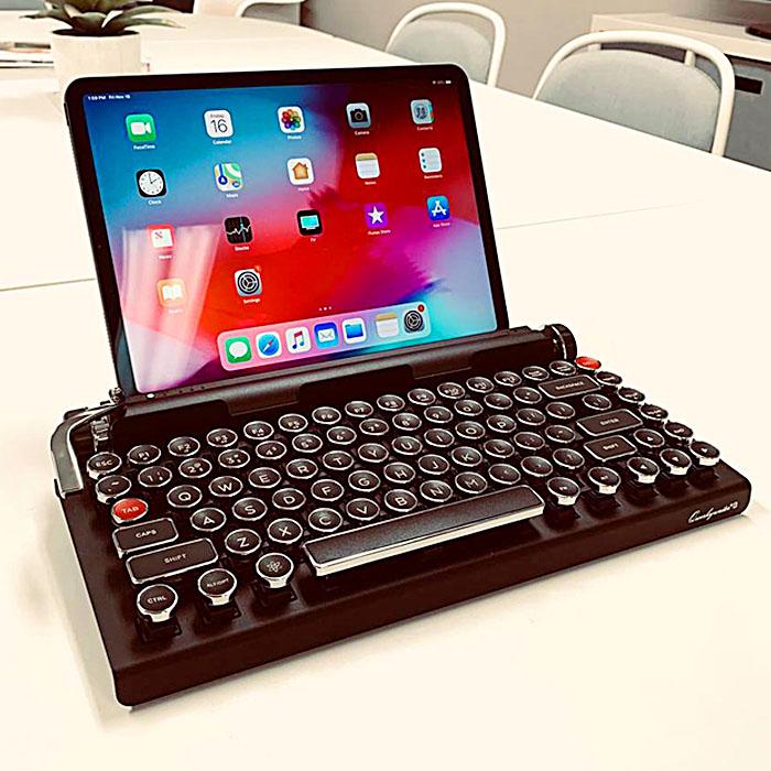 Vintage Typewriter Mechanical Keyboard