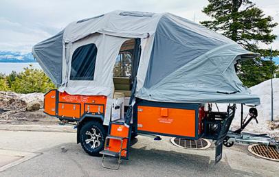 Best Inflatable Folding Camper Trailer | Air Opus Camper