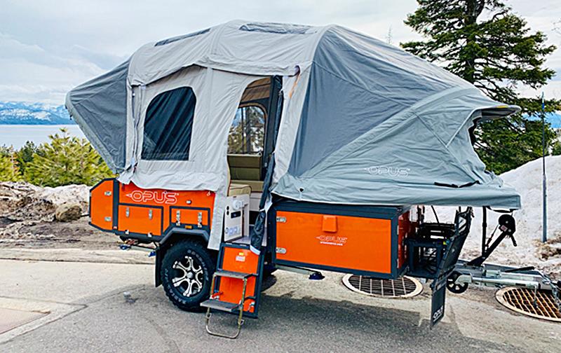 Best Inflatable Folding Camper Trailer   Air Opus Camper
