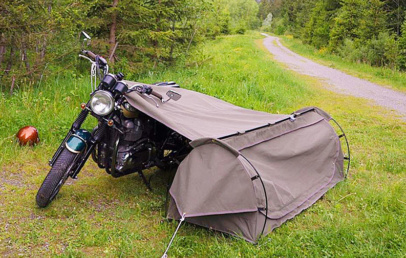 Best Motorcycle Camping Tent System | Goose Wingman Of The Road