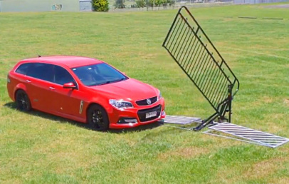Best Non-Electric Automatic Gate   Powered By The Weight Of a Car   Oz Autogate