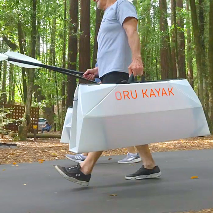 Extremely Portable & Collapsible Origami Kayak