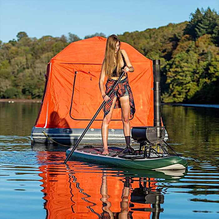 Floating Tent Camping On Water