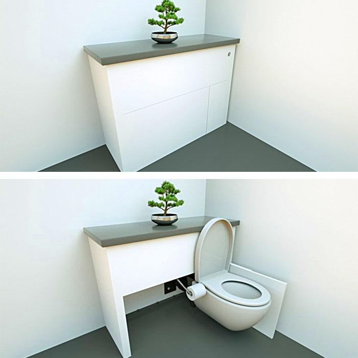 Foldable Toilet Hidealoo