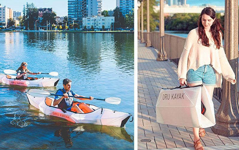 Folding Kayak | Extremely Portable & Collapsible Origami Kayak | Oru Kayak