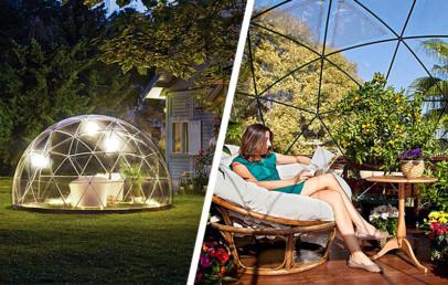 Garden Igloo   Garden Dome Igloo Tent For Your Backyard