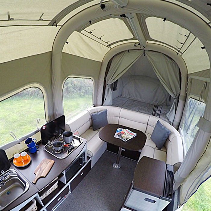 Inflatable Folding Camper