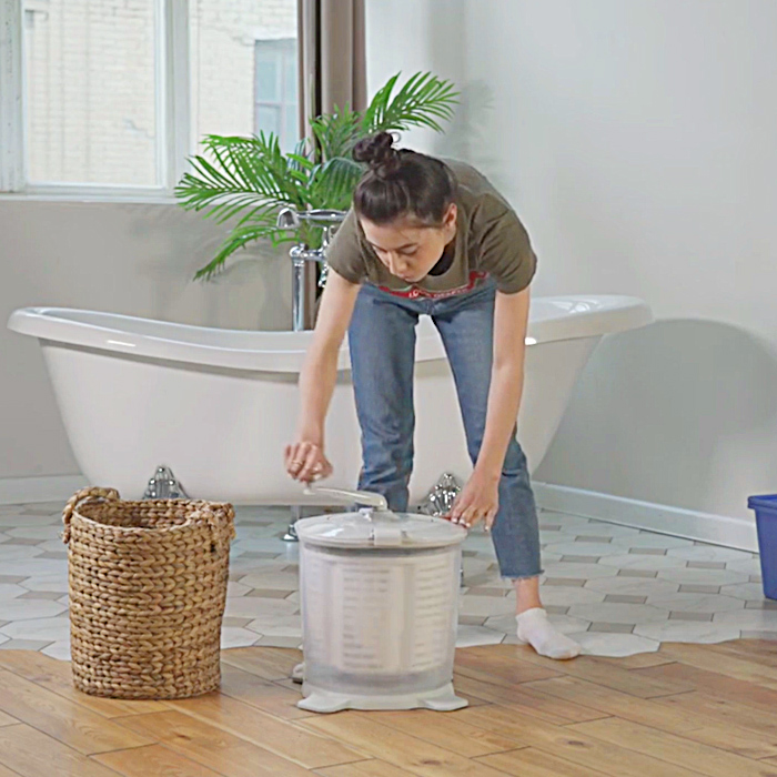 Non-Electric, Hand Powered, Portable | Easy Wash