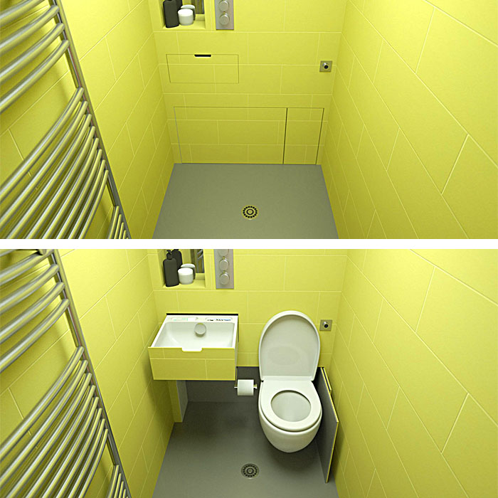 Retractable Toilet Seat
