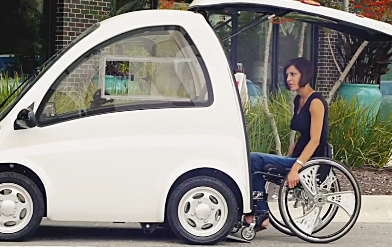 Best Electric Mobility Car For Wheelchair Users | Kenguru
