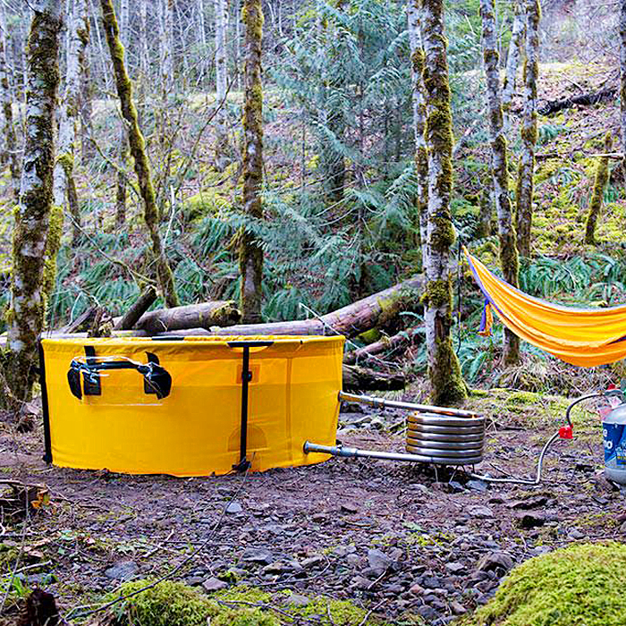 Hot Tub For Camping