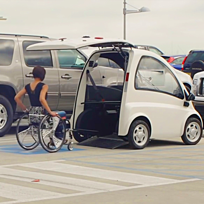 Mobility Car For Wheelchair Users