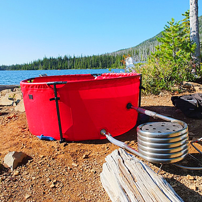 Portable & Collapsible Hot Tub