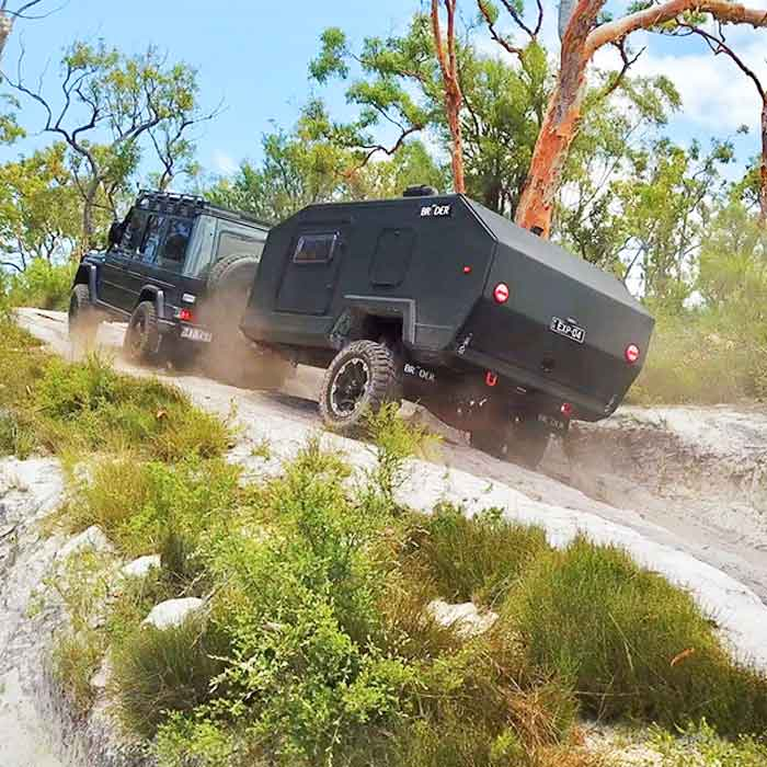 Extreme Off Road Camper Trailer