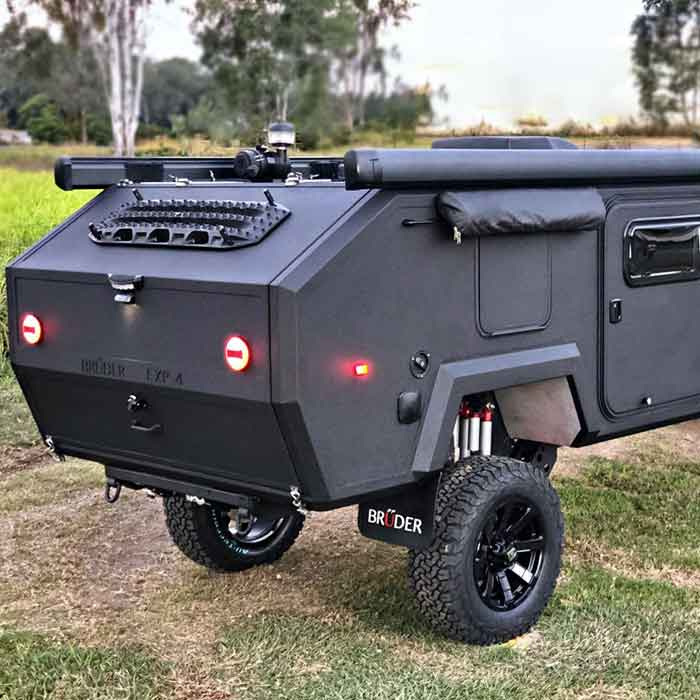 The Bruder EXP-4 Is The Ultimate Off-road Camping Trailer