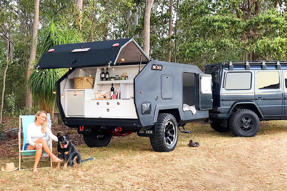 Extreme Off Road Camper Trailer | Bruder EXP-4