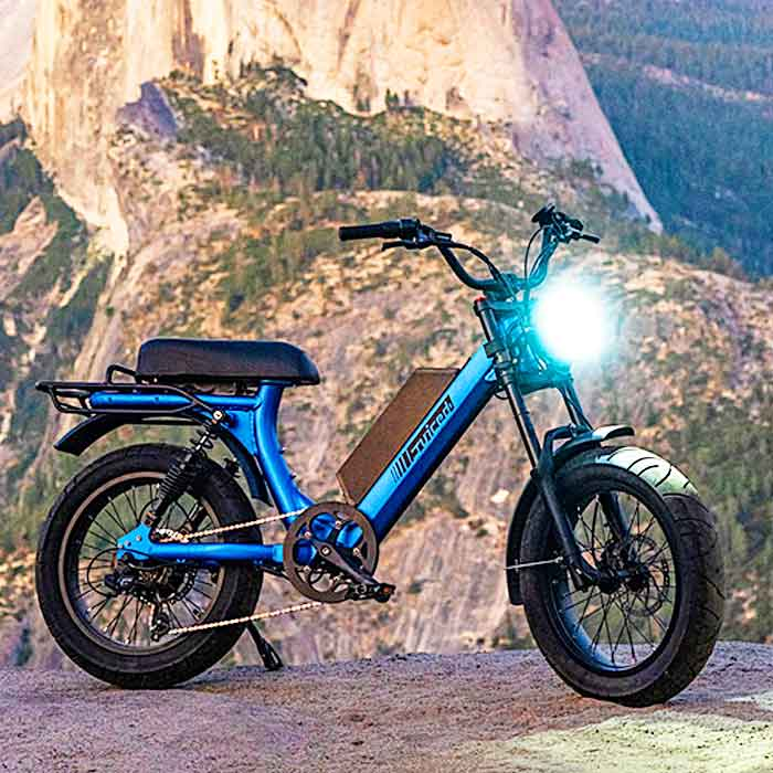 Moped Style Electric bike