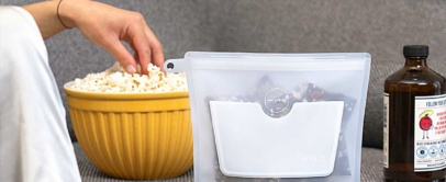 Safest Food Storage Container Replaces Lunch Bag & Plastic Bag   ZipBag
