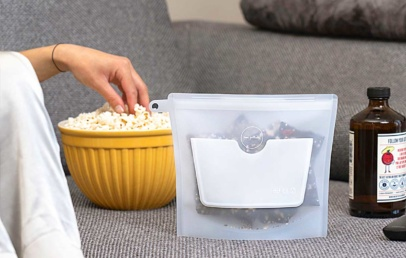 Safest Food Storage Container Replaces Lunch Bag & Plastic Bag | ZipBag