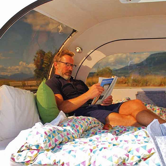 Teardrop Camping Trailer