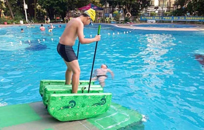 This Fun Water Sports Device Lets You Walk On Water!