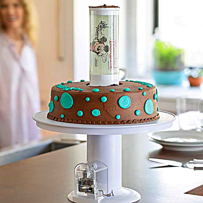 Pop Up Surprise Cake Stand