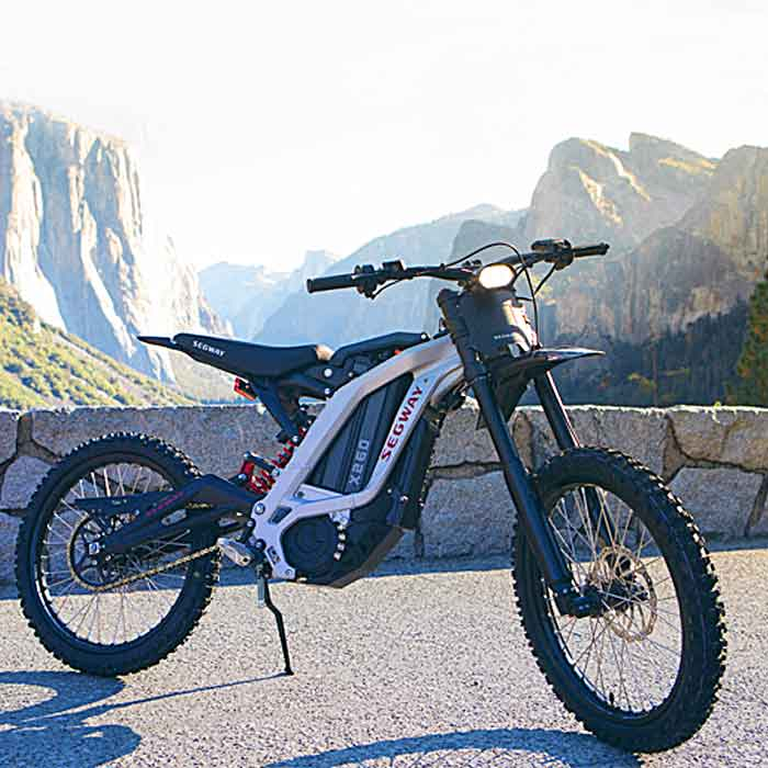 Powerful Electric Off-Road Dirt eBike