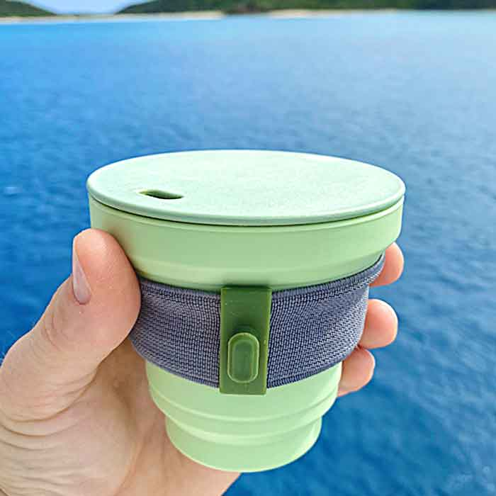 Folding Reusable Coffee Cup