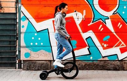 Halfbike 3 | Standing Bike That Combines Walking And Biking