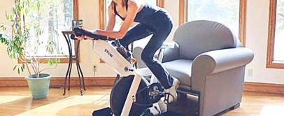 Multipurpose Living Room Furniture That Hides Exercise Equipment