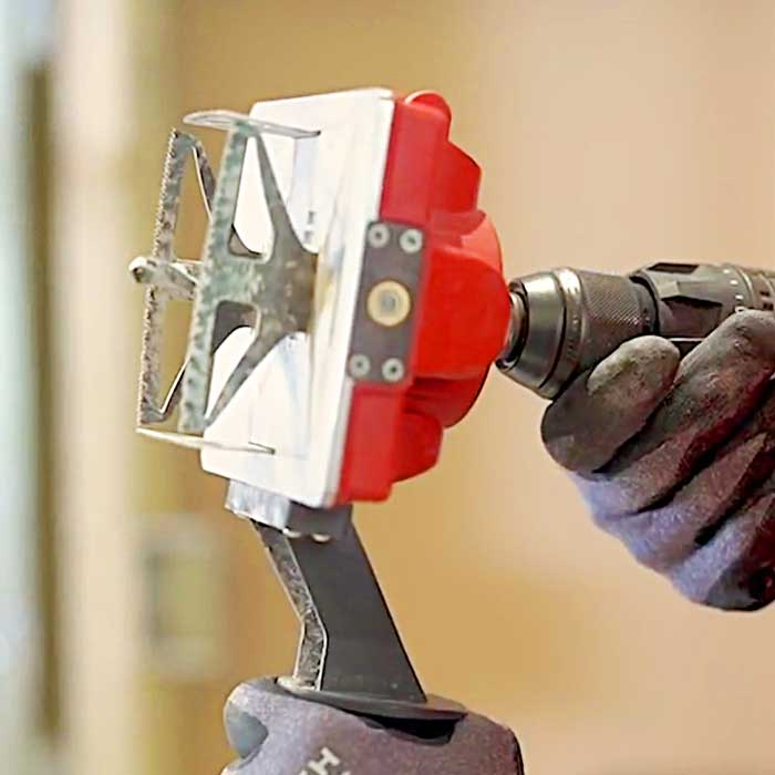 Square Hole Drill Tool