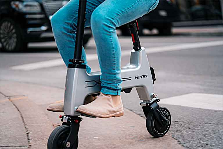 HiMo Ultimate Folding E-bike For Daily Work Commutes