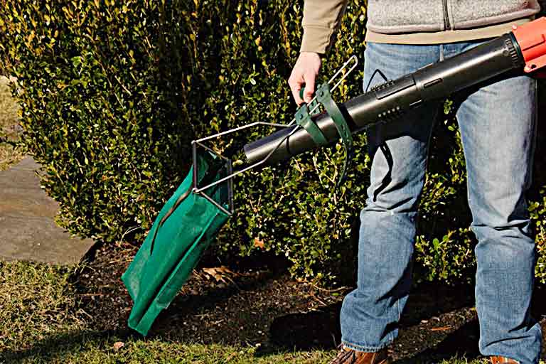 Leaf Blower Attachment