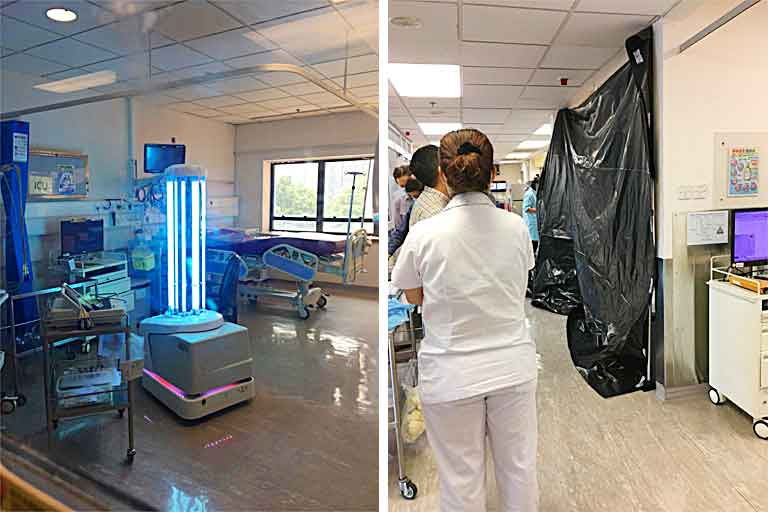 UV-Bacteria-Killing-Robot