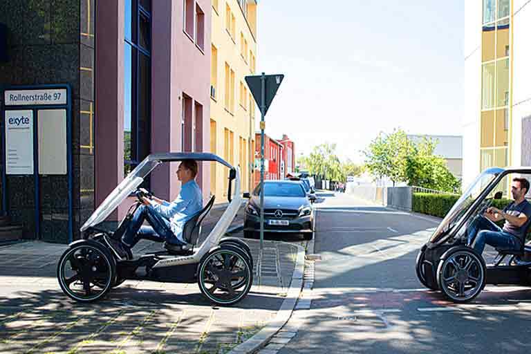 Bicycle-Car Hybrid
