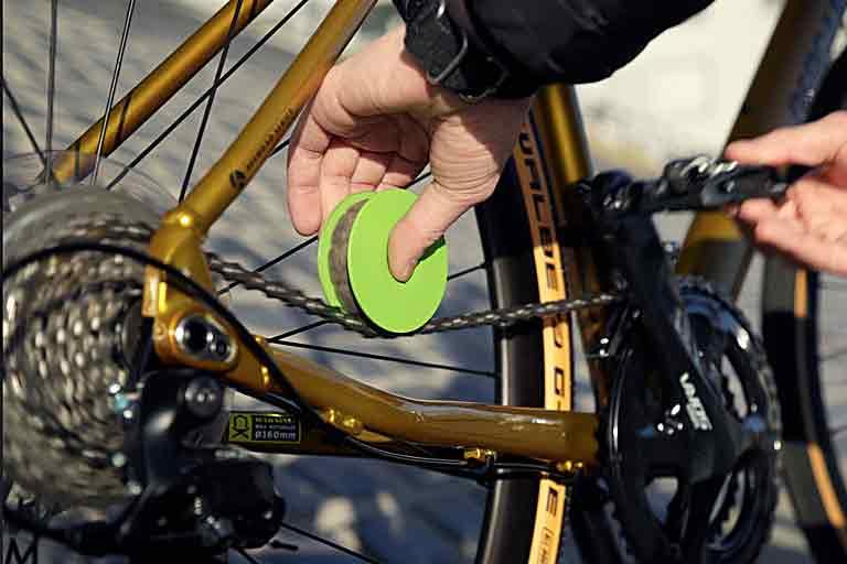 Bike Chain Care Device